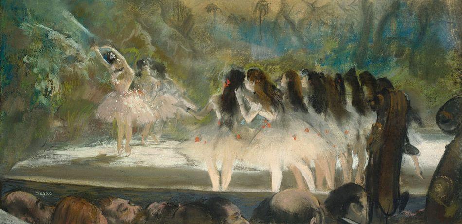 Ballet in de Opera in Parijs, Edgar Degas van Meesterlijcke Meesters
