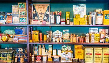 Historisch winkeltje bij de O'Keefe Ranch, Canada van Rietje Bulthuis