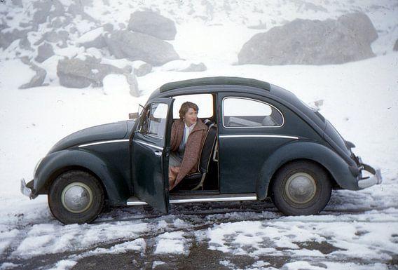 Vintage foto VW kever 1955