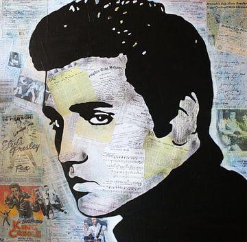"""Elvis Presley """"King Creole"""" door Kathleen Artist van Kathleen Artist Fine Art"""