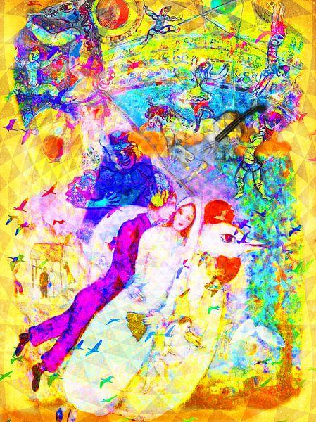 Kunst-Party-Hochzeit mit Chagall, Rotko und Zanolino von Giovani Zanolino