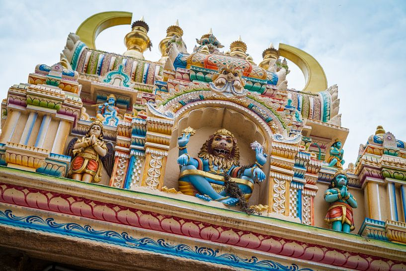 Indiase tempel van Jan Schuler