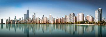 Chicago Skyline van Remco Piet