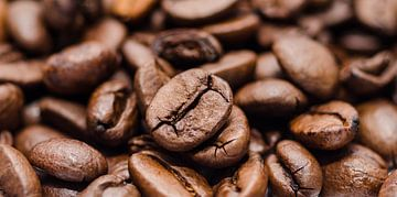 Geroosterde koffiebonen van Peter Heeling