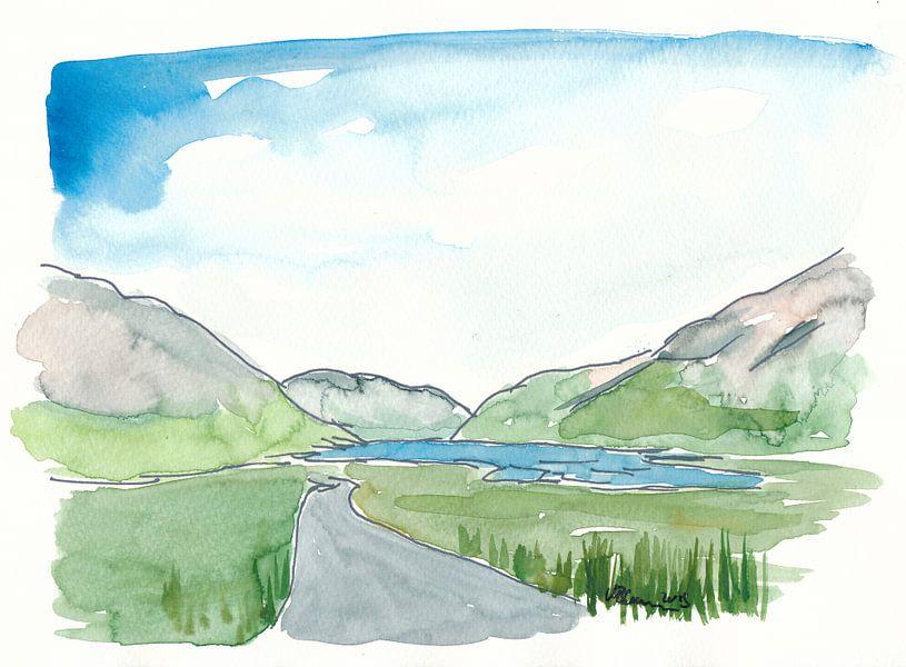 Irland Doolough Tal County Mayo von Markus Bleichner