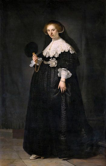 Oopjen Coppit van Rembrandt van Rijn