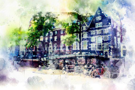 leven in Amsterdam 3 van Ariadna de Raadt