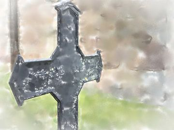 Croix de fer sur Frank Heinz