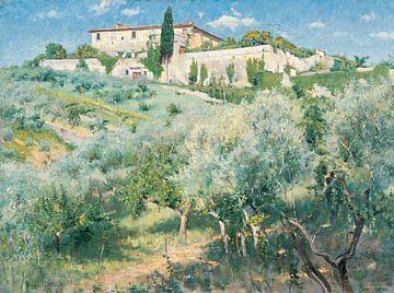 Louis Ritter-Villa Castellani, Bellosquardo, bei Florenz 1892