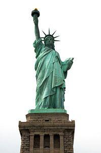Vrijheidsbeeld, Liberty Island New York van Hans Wijnveen