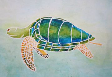 schildpad van Wilma Hage
