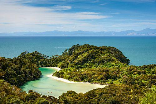 Lagune Abel Tasman NP, Nieuw Zeeland