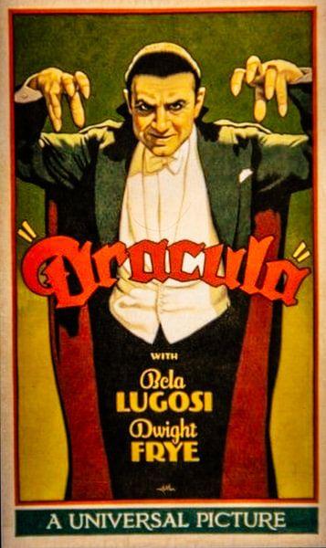 Filmposter Dracula van Brian Morgan