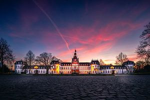 Historisch gebouw kasteel philippsruhe Hanau van Fotos by Jan Wehnert