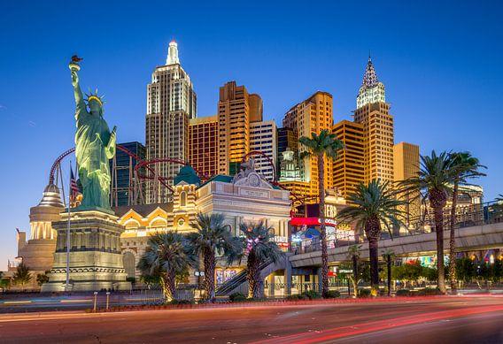 Las Vegas Strip met het New York New York hotel