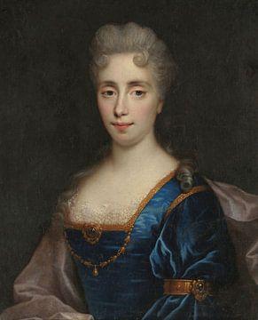 Porträt der Comtesse de La Fayette, Nicolas Mignard