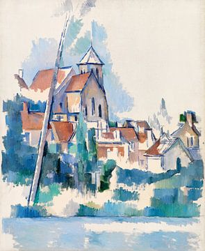 Die Kirche von Montigny-sur-Loing, Paul Cézanne (1898)