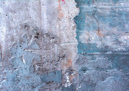 Abstracte betonnen muur