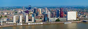 Panorama Boompjes Rotterdam sur Anton de Zeeuw