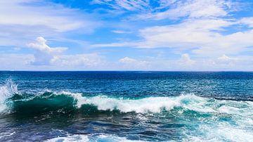 Wilde Ozeanwellen auf den Seychellennd seychelles. von MPfoto71