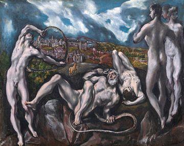 Laocoön - El Greco (Domenikos Theotokopoulos), 1610-1614 von Atelier Liesjes