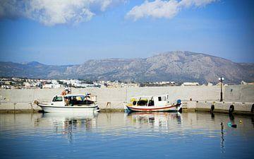 Harbour, Crete (Greece) van
