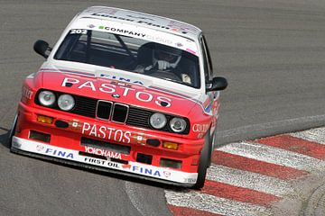 BMW M3 e30 op het circuit