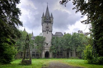 Urbex Kasteel  Chateau Noisy van