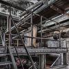 Urbex industrieel, Maassilo in rotterdam von Bernadet Gribnau Miniaturansicht