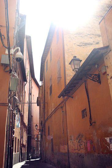 Straatje in Pisa