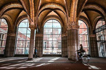 Onderdoorgang Rijksmuseum Amsterdam van Frank Verburg