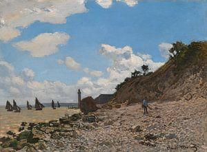 Der Strand von Honfleur, Claude Monet