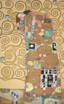 Werktekening voor de Stoclet-fries, deel 8, Gustav Klimt