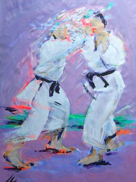 Karate - Zenshinshite von Lucia Hoogervorst