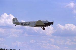 Junkers Ju 52 D AQUI im Flug van