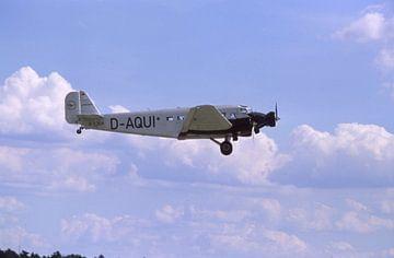 Junkers Ju 52 D AQUI im Flug van Joachim Serger