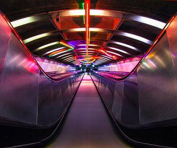 Rainbow Escalator van Fabian Bosman