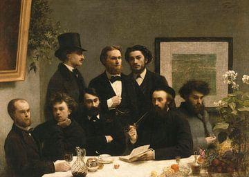 Am Tisch, Henri Fantin-Latour
