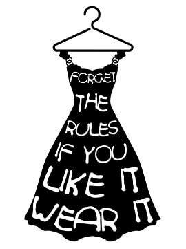 Kleid von Printed Artings