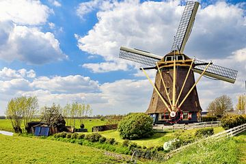 Broekzijdse Mühle 1641 von Eduard Lamping