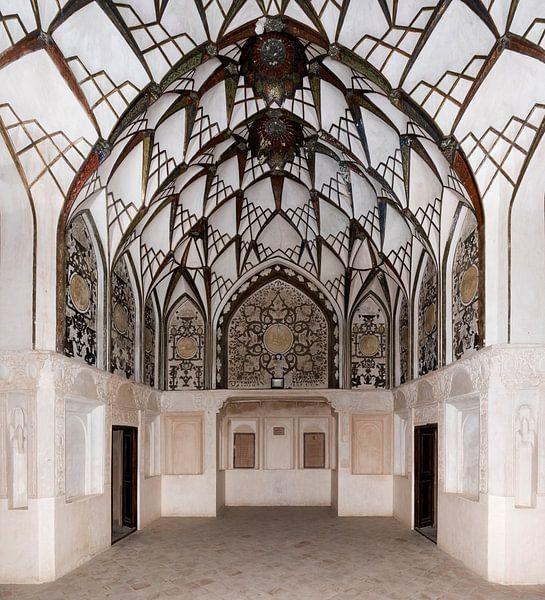 Iran: Borujerdishuis (Kashan) van Maarten Verhees