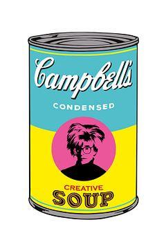 Warhol Creative Soup van Harry Hadders