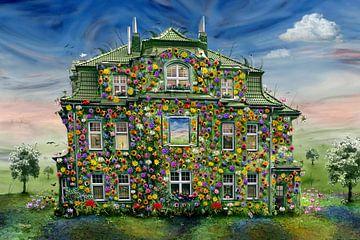 Das Blumenhaus auf dem Lande von Stefan teddynash