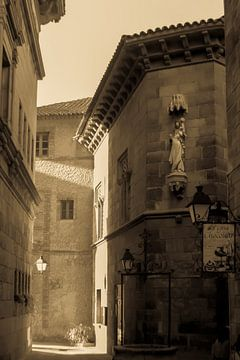 Street in Barcelona von Tessa Louwerens
