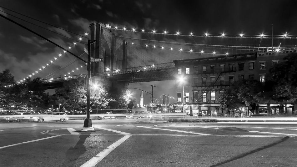 Brooklyn Bridge    New York van Kurt Krause