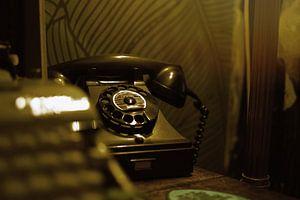 Vintage telefoon van Coco Gonzalez