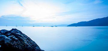 Blauer Himmel von Paul Vergeer
