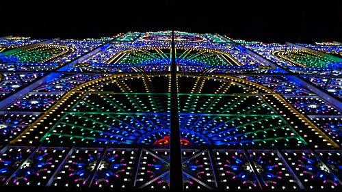 Kleurige lichtjes van