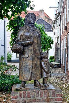 Oma und Kind van Edgar Schermaul