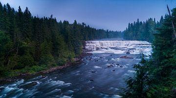 Dawson Falls Clearwater British Columbia Canada van Dennis Werkman